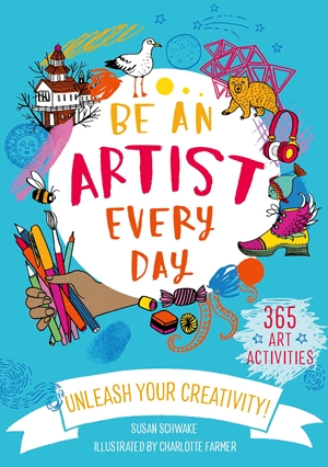 Be an Artist Everyday Cover